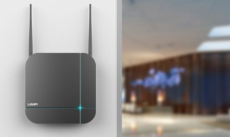 LEWIFI Commercial Router Design In 2015 on Behance