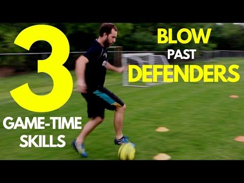 This video breaks down 3 soccer moves for beginners. These 3 soccer moves will help you blow by defenders 1v1.