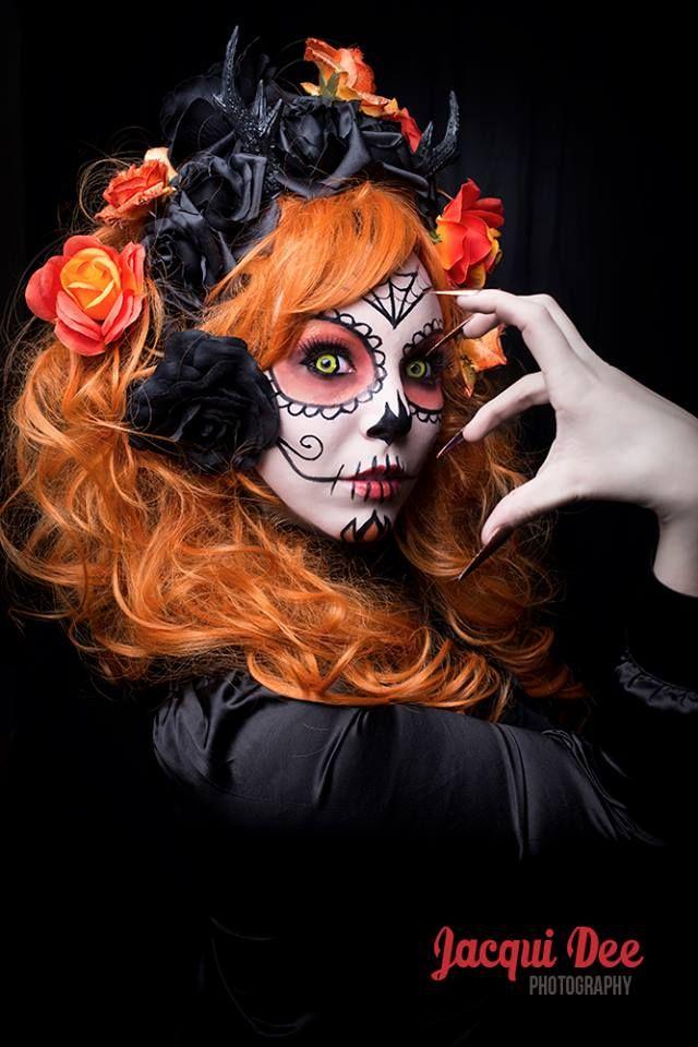 halloween sugar skull by Little-Miss-Twisted.deviantart.com on @DeviantArt