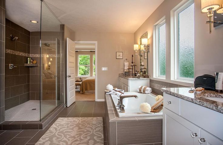 138 best images about indianapolis in drees homes on for Large master bathroom floor plans