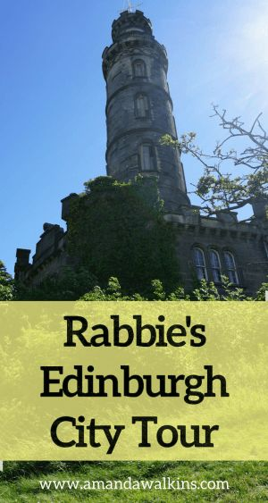 The Edinburgh City Tour offered by Rabbie's in Scotland is a great way to learn the whole city in a comfortable, small group tour.