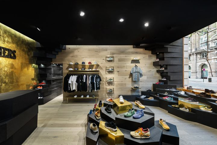 Panthers store by Joshua Florquin Architects Brussels  Belgium