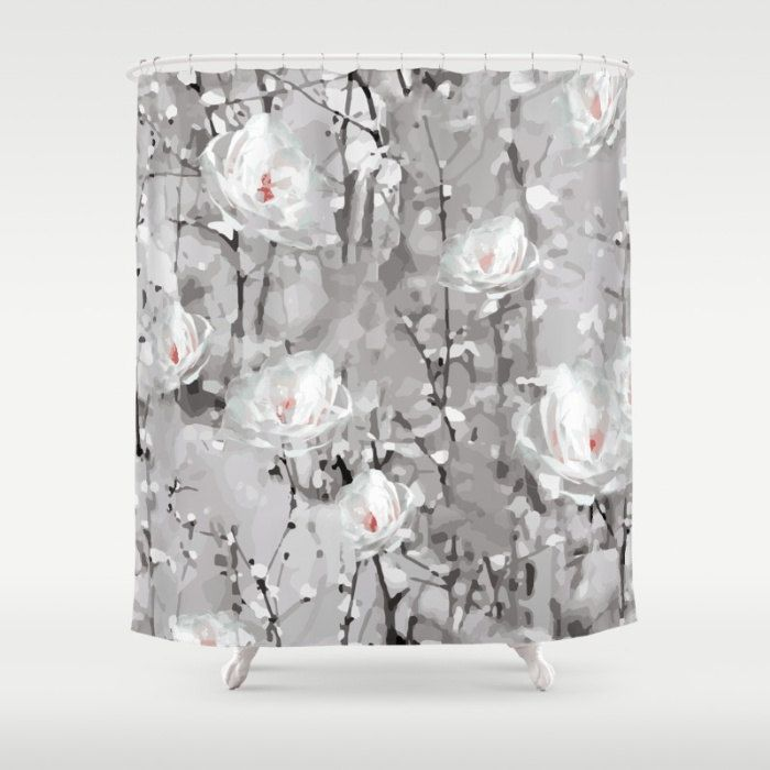 gray and orange shower curtain. Best 25  Gray shower curtains ideas on Pinterest 84 curtain Shower lengths and Elegant