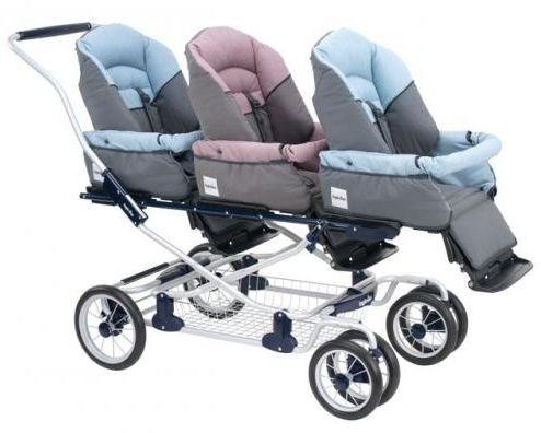 Inglesina Domino Triple Stroller Baby Strollers