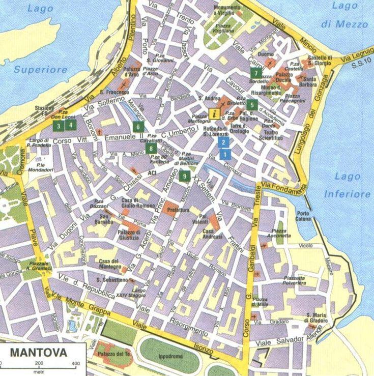 Mappa Di Mantova Cartina Di Mantova Citt 224 Pinterest