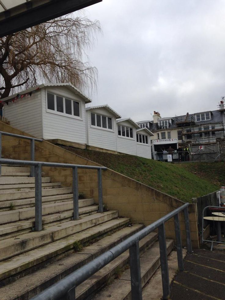 Lewes FC corporate beach huts
