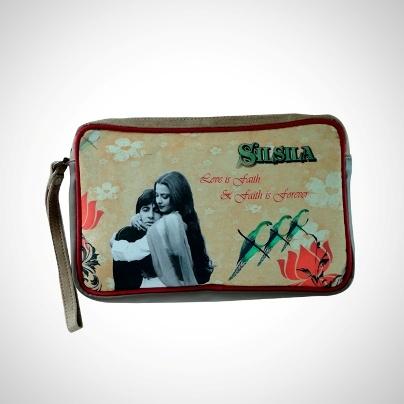 Multipurpose Zipper Pouches 'Silsila' Imprint  Now At Rs. 595.00