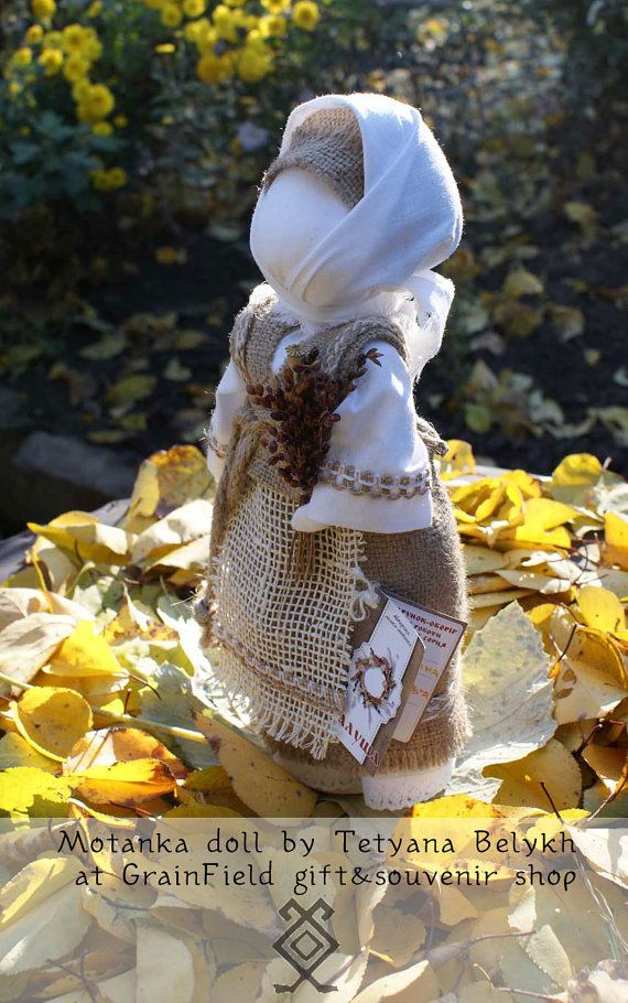 Ukrainian doll  Motanka Grandma by GrainField on Etsy