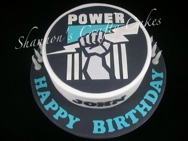 Port Adelaide FC POWER Cake