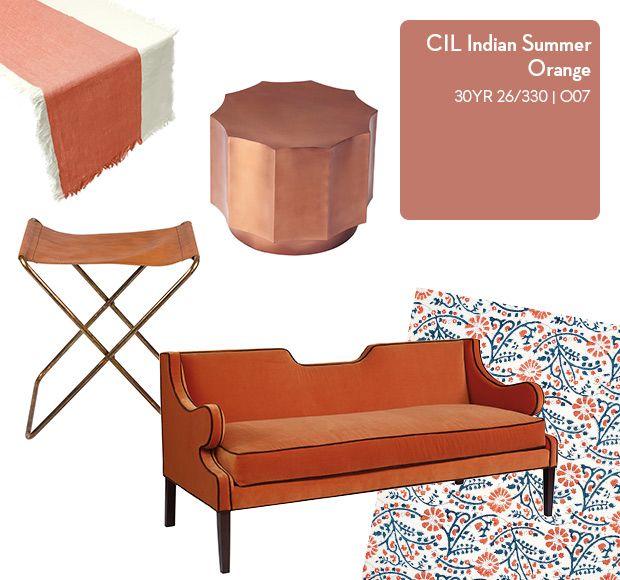 Vote for your favourite @CILPaints colour for a chance to win paint at houseandhome.com/mycilcolour! #MyCILColour is CIL Indian Summer Orange