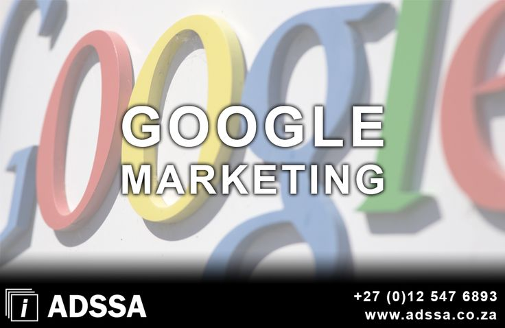 Google Marketing   Pay Per Click is a system by which Google Marketing, advertise your website or business on the Internet, and you pay them for each time somebody click on the advertisement to go through to your website. This campaign has been proven successful both for ADSSA and many other websites The Pay Per...  http://adssa.co.za/google-marketing/