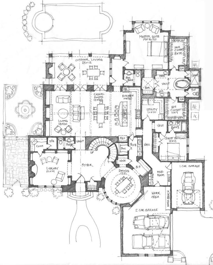 518 best architectural plans images on pinterest house floor Cardinal Homes House Plans all i really like about this house is the round dining room, but it is cardinal homes house plans