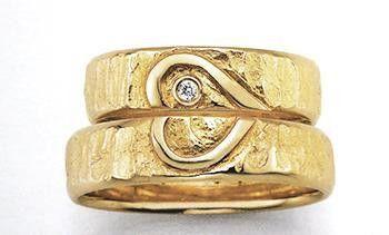 Eheringe - handgefertigte Trauringe Eheringe Hochzeitsringe   - ein Designerstück von Schmuck-Depot-online bei DaWanda