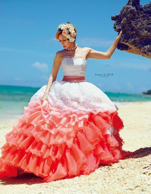 アイランドヒルズ迎賓館(佐賀) 結婚式場写真「【衣装○BENI】カクテルドレス」 【みんなのウェディング】