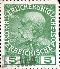 Franz Joseph I or Francis Joseph I (German: Franz Joseph I., Hungarian: I. Ferenc József, 18 August 1830 – 21 November 1916) was Emperor of Austria, King of Bohemia, King of Croatia, Apostolic King of Hungary, King of Galicia and Lodomeria and Grand Duke of Cracow from 1848 until his death in 1916. From 1 May 1850 until 24 August 1866 he was President of the German Confederation.[1]