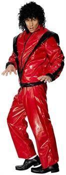 Men's Michael Jackson Thriller Deluxe Costume Adult - Large