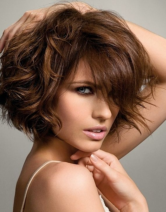 short to medium length hairstyles for thick, frizzy hair | Other amazing related posts you might like...