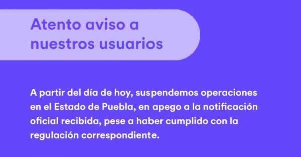 Gobierno gana la batalla Cabify anuncia que desde hoy se va de Puebla - Diario Cambio