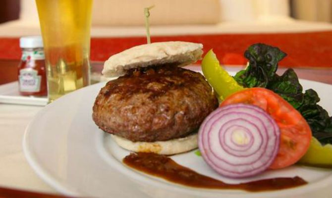 If you're in #NYC and near one of these #hotels, run to their #burgers.