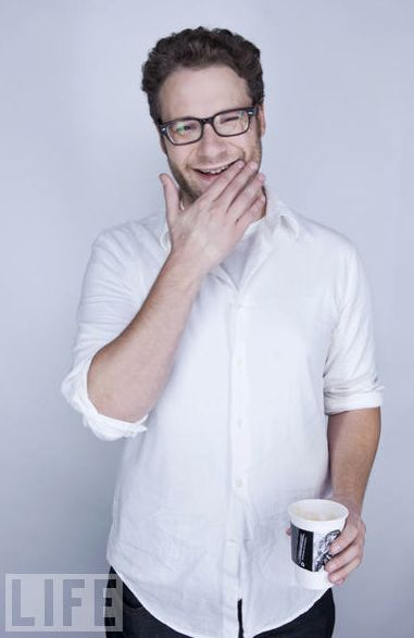 And people make fun of me for my Seth Rogen obsession...