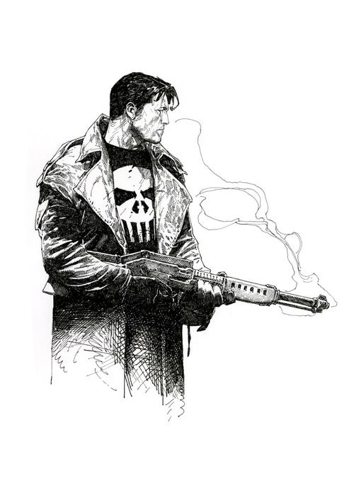 Travis Charest - Punisher (500×679)