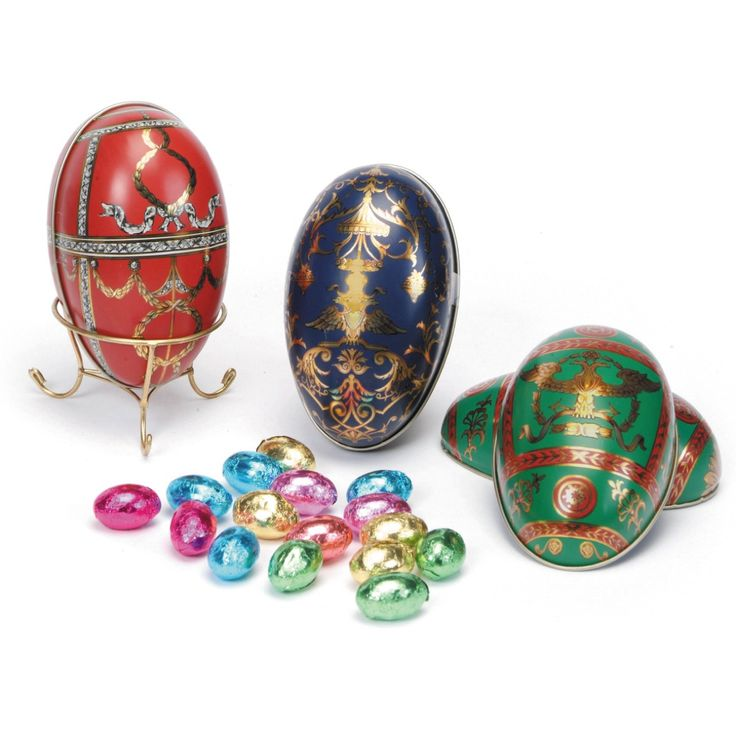 Faberge-inspired Easter Egg Treats