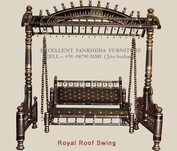Royal Doom Swing  ( black & gold )