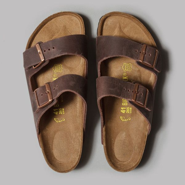 Birkenstock Arizona Sandals (Habana Oiled Leather)