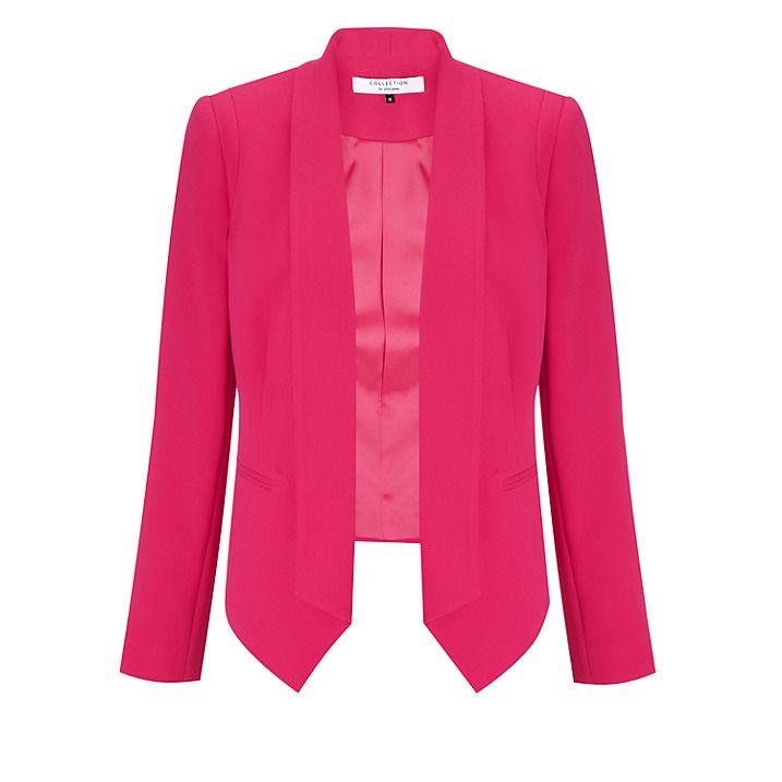 Купить СОБРАНИЕ Джон Льюис Amaris куртка, Фламинго, 8 онлайн в johnlewis.com