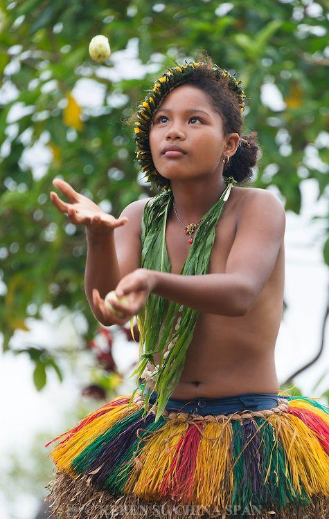 native pacific island girls