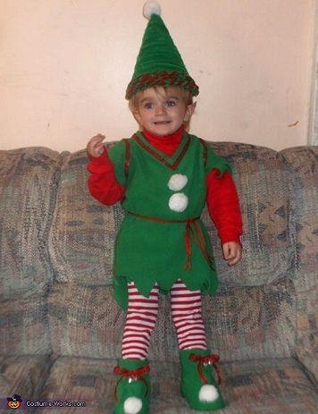 Disfraces Caseros Navidad Elfo Disfraz De Duende Navideño Disfraces Navidad Niños Disfraces De Navidad