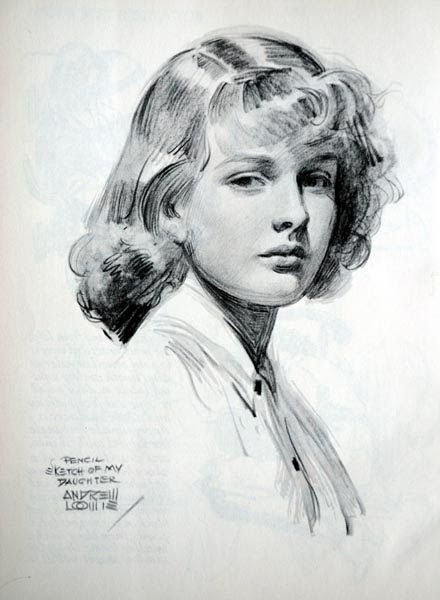 American artist and illustrator Andrew Loomis (102 works)