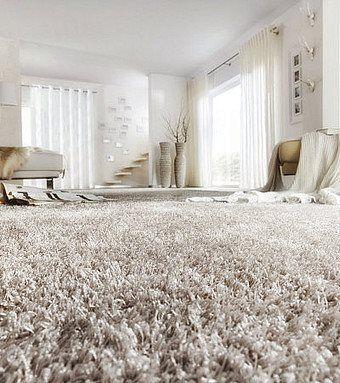 Világos shaggy padlószőnyeg