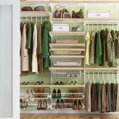 rules of thumb for cleaning your closet....and making room for new purchases from stp!