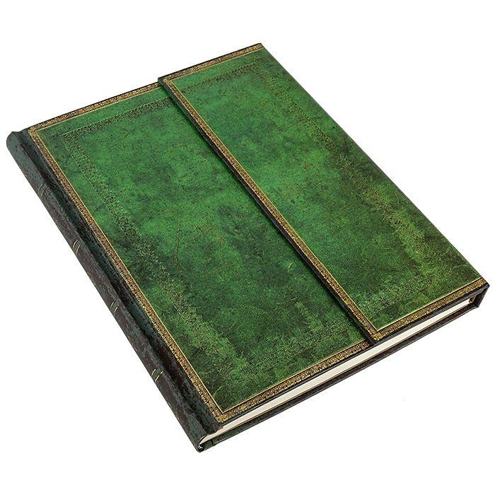 PAPERBLANKS Notizbuch Jadegrün, groß liniert, 21,95 € #paper #book #journal #gift