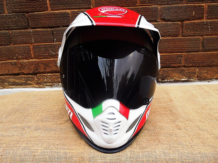 Ducati helmet painted by PAZ.