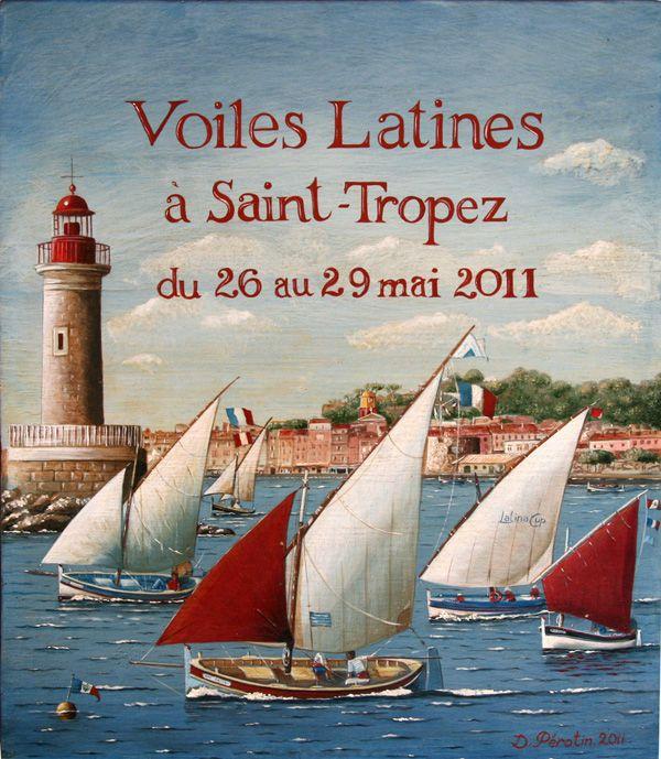 St Tropez poster