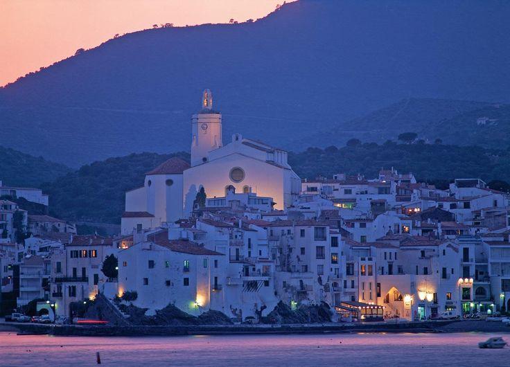 Most beautiful place in costa brava costa española.-Cadaqués,, Cataluña