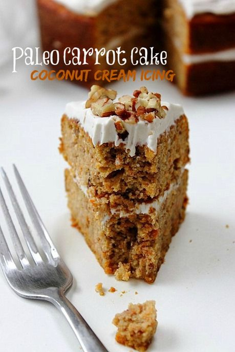 Moist, light, grain free and dairy free carrot cake…finally made possible! Topped and sandwiched with...