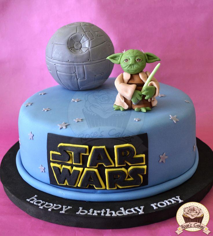 Star Wars - Yoda #fondant #cake