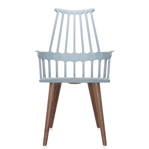 Kartell Comback Stuhl mit vier Beinen