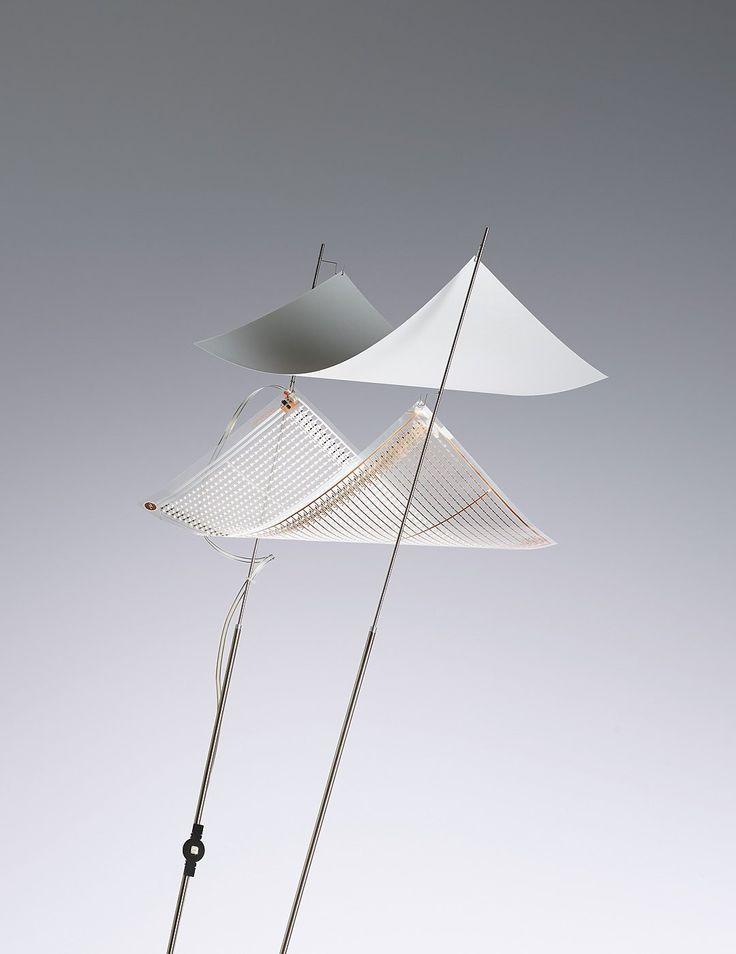 Ingo Maurer Dew Drops Floor 1 LED Folie und 1 Papiersegel