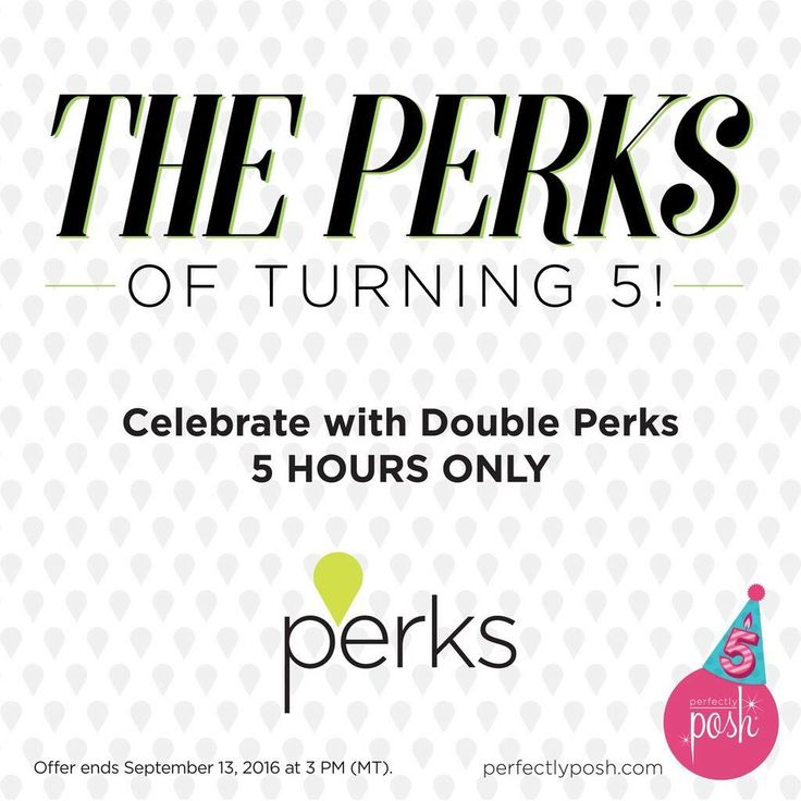 We love birthday surprises, so for the next 5 hours we're doubling Perks on these five products: Spawesome Chunk, Never Grow Up Anti-Aging Serum, Impish Eyes De-Puffing Eye Serum, Girl Crush Body Butter, and Fallout Girl Body Wash. Hurry, this sale ends today at 3 PM (MT). www.perfectlyposh.com/drelovesposh #PoshTurns5 #nj #morriscounty #netcong #perks