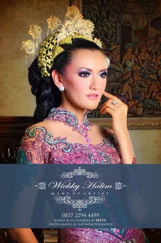 My make up wedding #natural #makeup #wedding #pengantin #eyeshadow #flawless #traditional #wickkyhalim