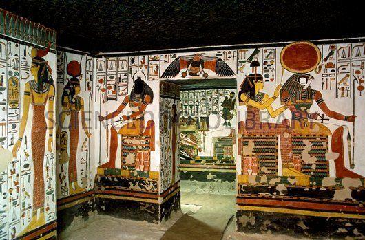 Viaggio in Egitto, Tomba di Nefertari a Luxor http://www.italiano.maydoumtravel.com/Pacchetti-viaggi-in-Egitto/4/0/