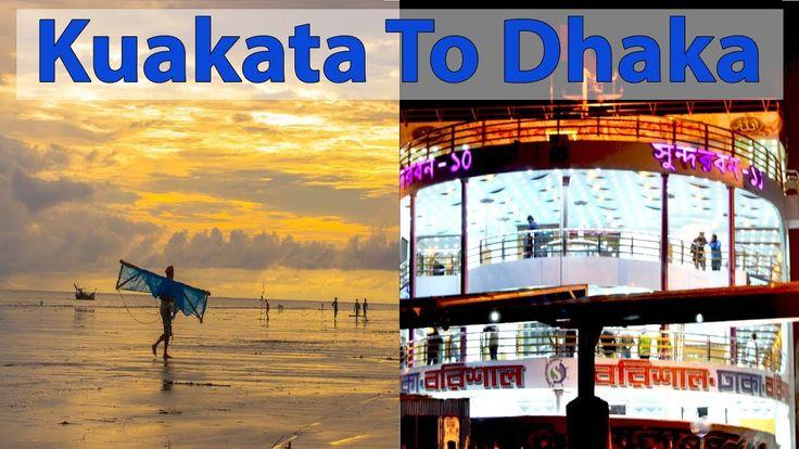 Barisal to Dhaka by Sundarban 10 Launch | Kuakata Tour