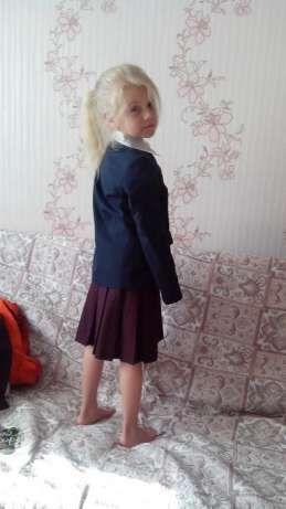 Школьная форма синяя Юность,для девочки, пиджак Киев - изображение 3