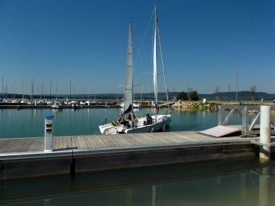 #Catamaran et voile sur le Lac de Madine Crédit photo : Lac de Madine