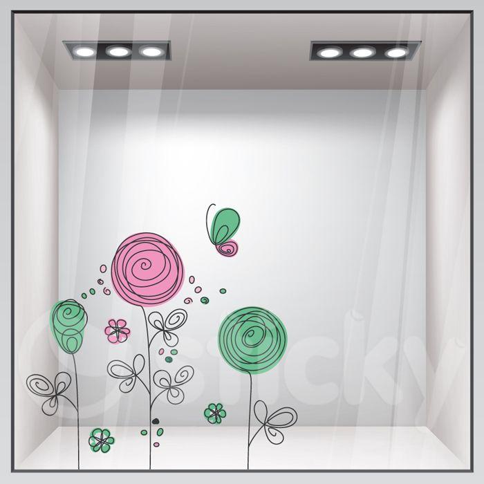 Window Sticker SPRING6 by Sticky!!!