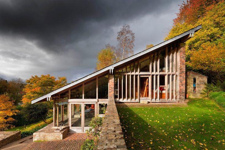 Ansty Plum House, Wiltshire  Architect: David Levitt, 1964